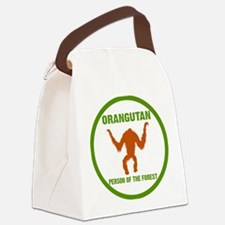 Orangutan Person of the Forest ci Canvas Lunch Bag