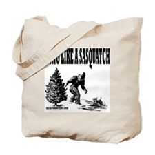 Hung Like a Sasquatch.gif Tote Bag