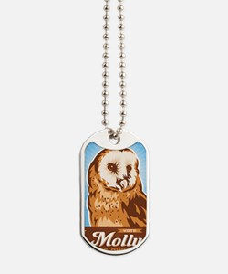 VoteMolly_MiniPoster Dog Tags