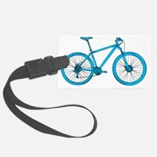 Light Blue Hardtail Luggage Tag