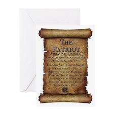 Emancipation Proclamation Greeting Card