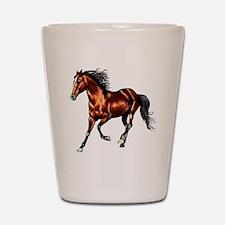Bay Horse, Dreamer Shot Glass