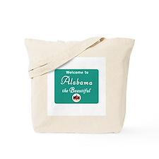 Welcome to Alabama - USA Tote Bag