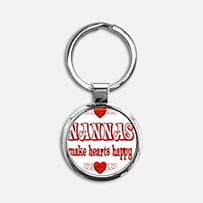 2-nanna Round Keychain