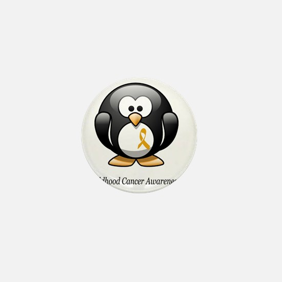 2-childhood cancer awareness tee Mini Button