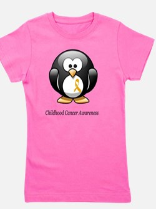 2-childhood cancer awareness tee Girl's Tee