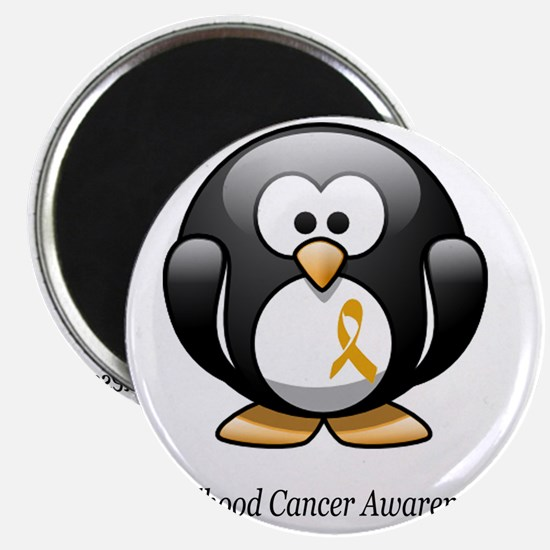 2-childhood cancer awareness tee Magnet