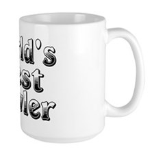 WORLDS BEST Bowler Mug