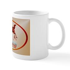 Barrel Racing_It's what I do  oval_stic Mug