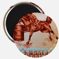 Barrel Racing_Its what I do _pillow Magnet