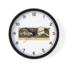 Welcome to Alaska - USA Wall Clock