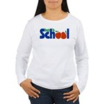 Back to School - Apples Women's Long Sleeve T-Shir