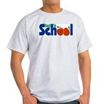 Back to School - Apples Ash Grey T-Shirt