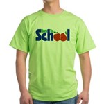 Back to School - Apples Green T-Shirt