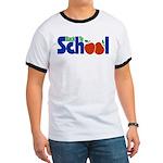 Back to School - Apples Ringer T