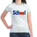 Back to School - Apples Jr. Ringer T-Shirt