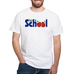 Back to School - Apples White T-Shirt