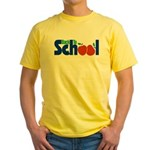 Back to School - Apples Yellow T-Shirt