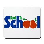 Back to School - Apples Mousepad