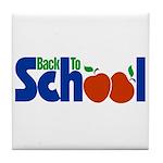 Back to School - Apples Tile Coaster