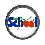 Back to School - Apples Wall Clock