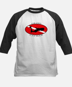Grand Cayman Diver (oval) Tee