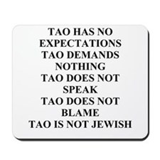 jewish wisdom gifts and t-shi Mousepad