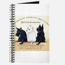 Scottie & Westie Logo Journal