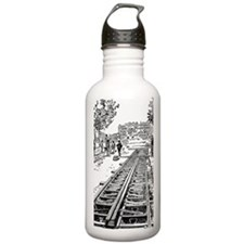 constructing tracks Water Bottle