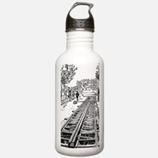 constructing tracks Water Bottle