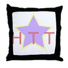 httlargebright Throw Pillow