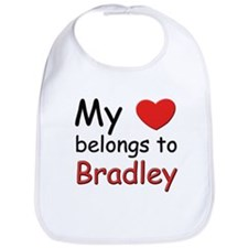 My heart belongs to bradley Bib