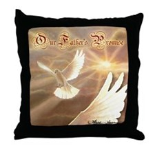 """""""Father's Promise"""" Dove Spirit Pillow"""