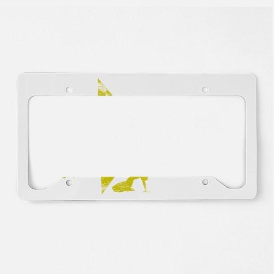 OPTOM WHT License Plate Holder