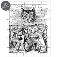 Disembodied Cheshire Cat Puzzle