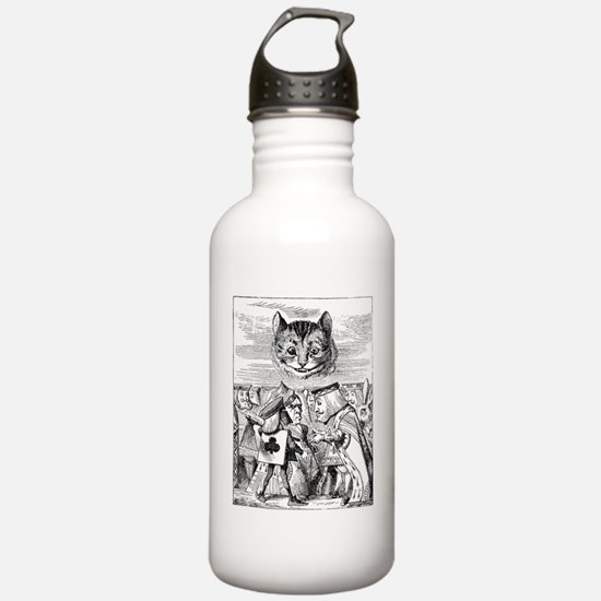 Disembodied Cheshire C Water Bottle