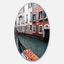 Gondola Ride Sticker (Oval)