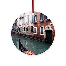 Gondola Ride Round Ornament