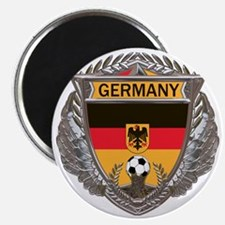 German Soccer Gym Bag Magnet