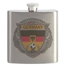 German Soccer Gym Bag Flask