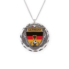 German Soccer Gym Bag Necklace