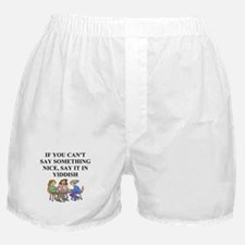 jewish yiddish wisdom Boxer Shorts