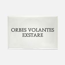 ORBES VOLANTES EXSTARE Rectangle Magnet