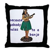 2-T Throw Pillow