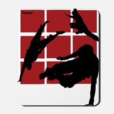Parkour edge B Mousepad