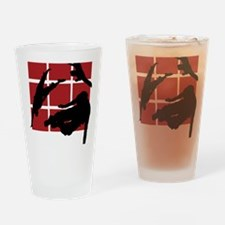 Parkour edge B Drinking Glass