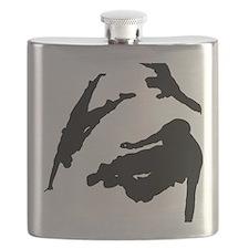 Parkour edge white Flask