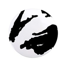 "Parkour edge white 3.5"" Button"