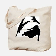 Parkour edge white Tote Bag