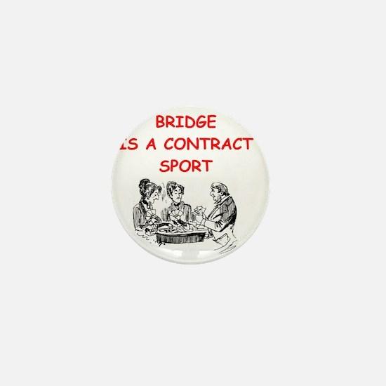 i love bridge Mini Button